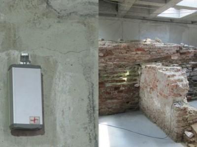 Fundamenty starego XVI w. Ratusza - Oświęcim